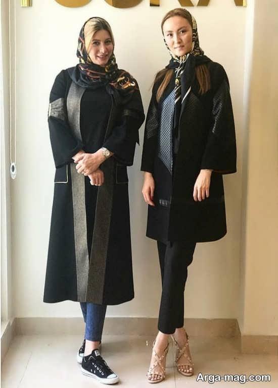 عکس فریبا نادری و طراح لباس هایش
