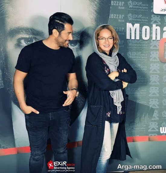 عکس جدید محمدرضا گلزار و مهناز افشار