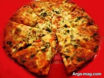 طرز تهیه پیتزا استیک گوشت