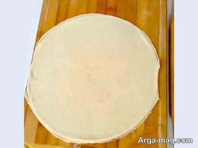 طرز تهیه پیتزا الستیک گوشت