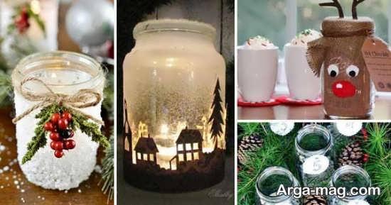 تزیین بطری های شیشه ای با طرح های زیبا و جالب