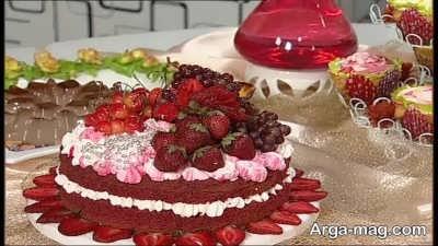 نحوه ساخت کیک ردولوت
