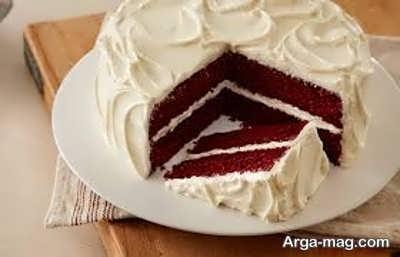 طریقه ساخت خامه روی کیک ردولوت