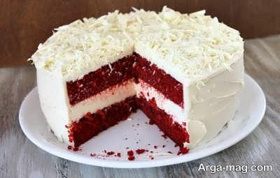 مواد لازم برای تهیه خامه روی کیک ردولوت