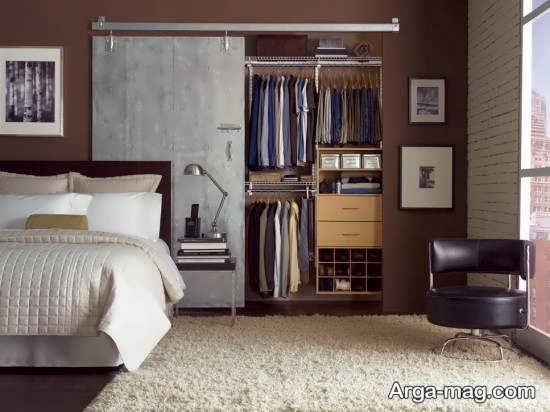کمد دیواری اتاق خواب با مدل های جدید