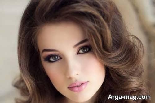 مدل آرایش شیک دخترانه