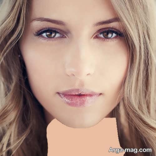 مدل زیبا و شیک آرایش صورت