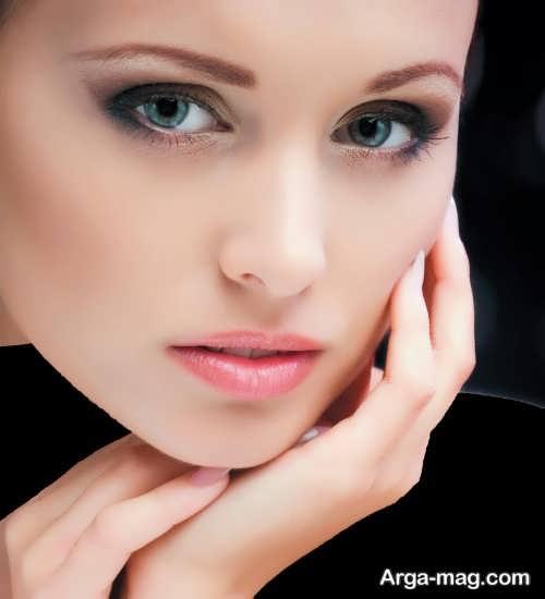 مدل آرایش ملایم صورت