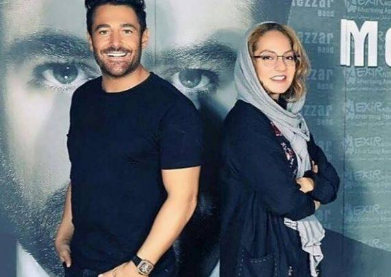 عکس جدید مهناز افشار و محمدرضا گلزار