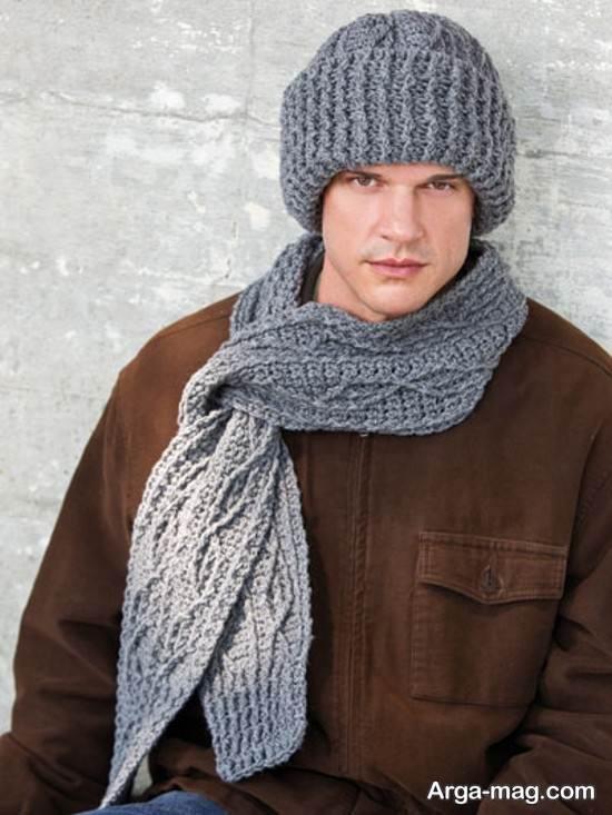 مدل کلاه شال مردانه