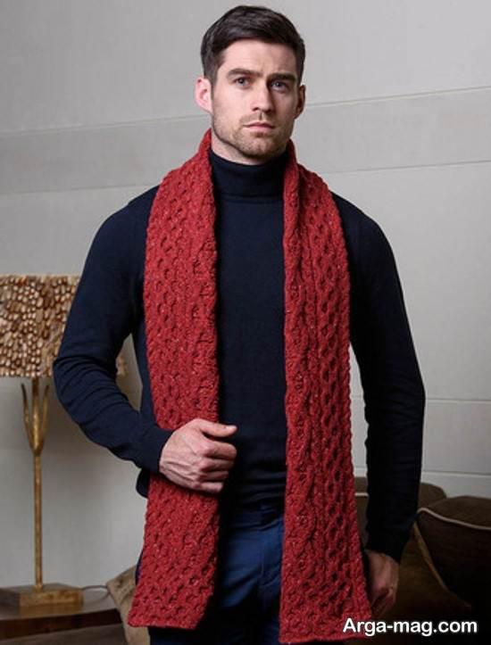 شیک ترین مدل شال گردن مردانه