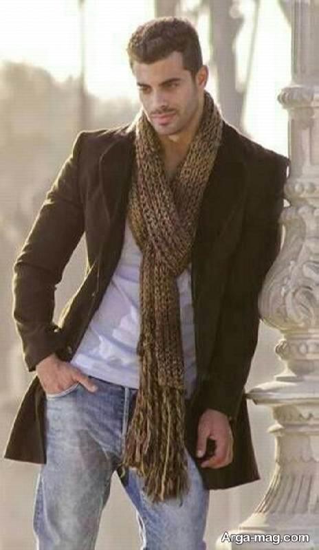 مدل شال گردن مردانه بلند