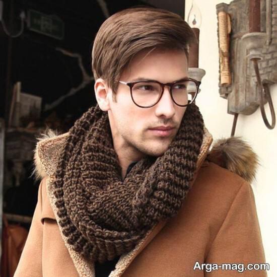 شال گردن بافتنی مردانه