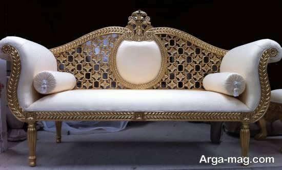 نمونه ای از شیک ترین مدل های مبل سلطنتی