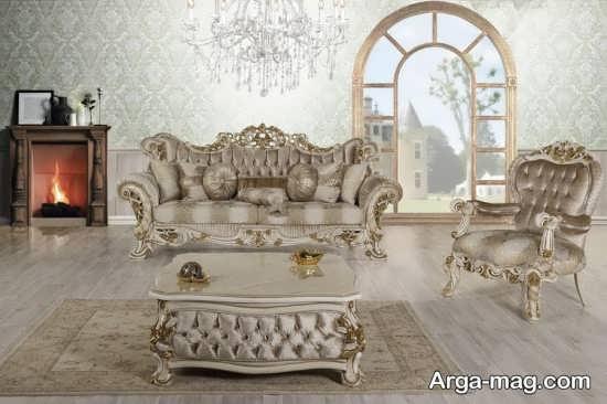 طرح های تازه از مبلمان سلطنتی