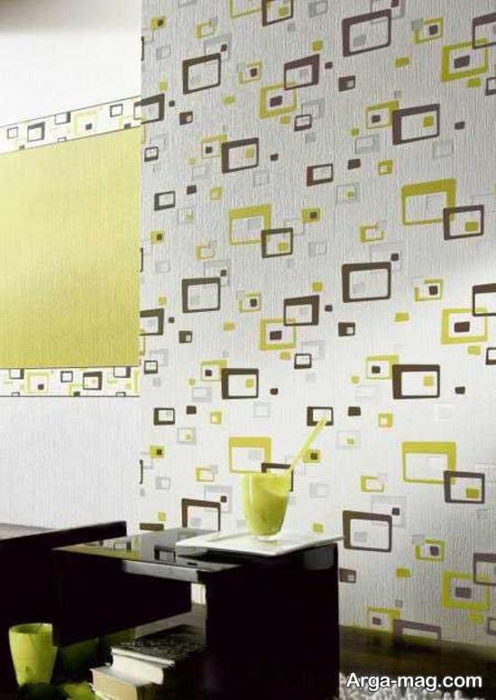 مدل کاغذ دیواری ساده