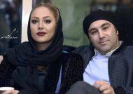 محسن تنابنده و همسرش
