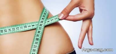 رژیم لاغری برای شکم و پهلو در ده روز