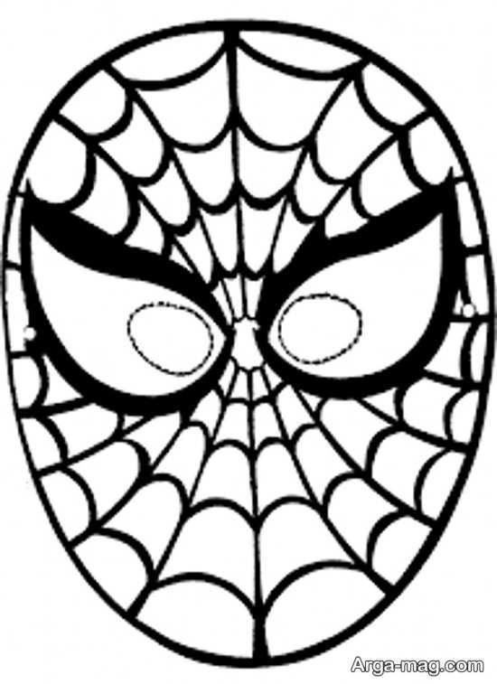 ساخت صورتک مرد عنکبوتی
