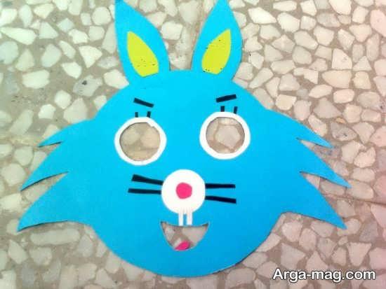 ساخت صورتک خرگوش