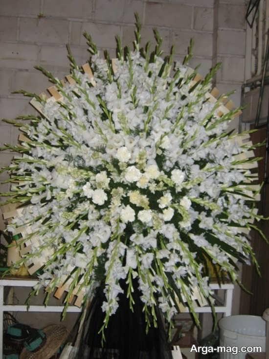 تصاویری از جدید ترین های اج گل در مراسمات ختم