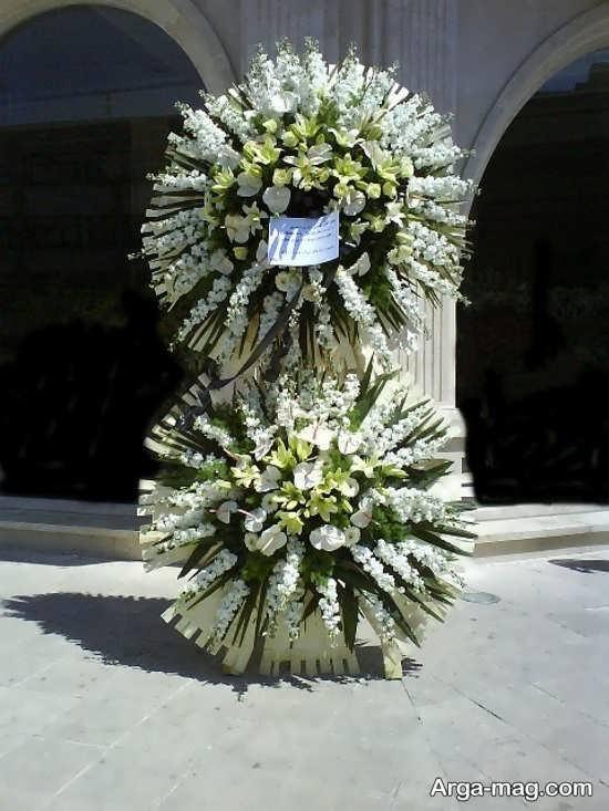 دیزاین تاج های گل