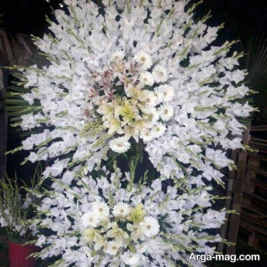ایده های زیبا برای تاج گل مراسم ختم