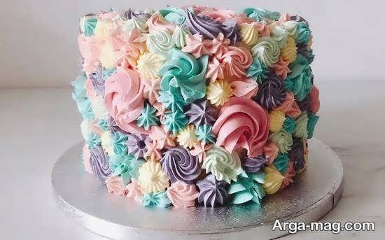 مدل تزیینات کیک خانگی