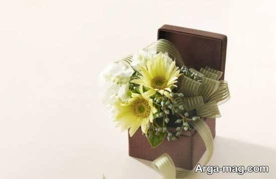 استفاده از گل برای تزیین سکه