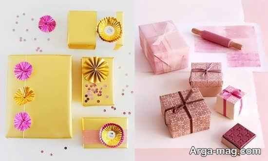 بسته بندی و دیزاین سکه برای کادو