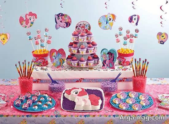طراحی سالن تولد با تمپونی کوچولو