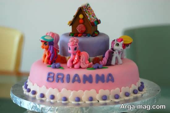 کیک تولد پونی