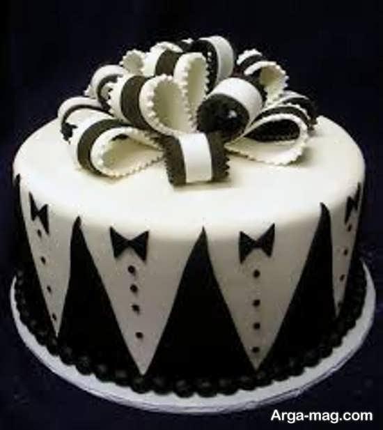 کیک سیاه و سفید