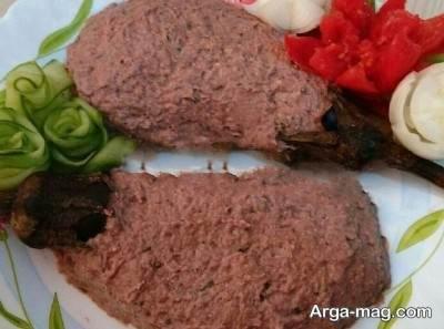 طرز تهیه کال کباب