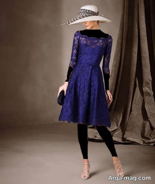 مدل لباس شب گیپور 2018