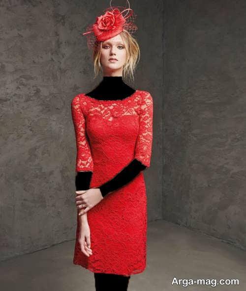 مدل لباس شب گیپور و کوتاه 2018