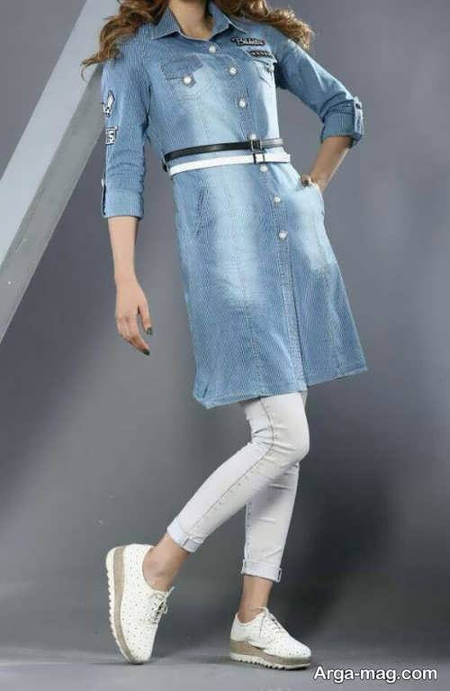 مدل مانتو لی دخترانه