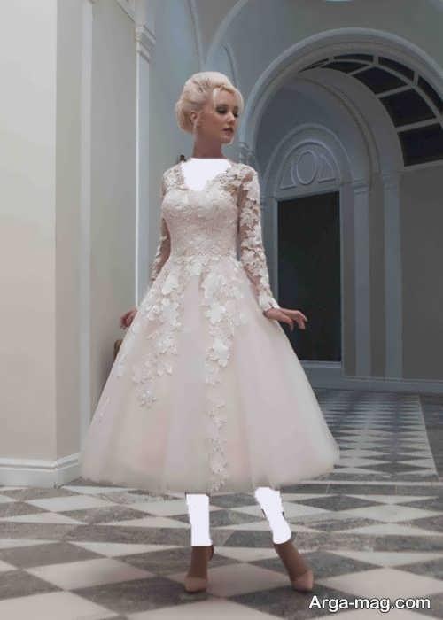 مدل لباس عروس برای افراد کوتاه