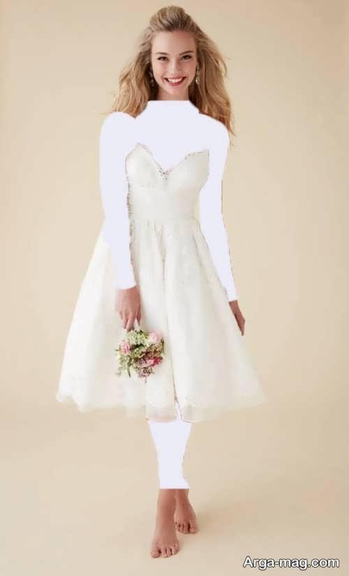 لباس عروس برای افراد قد کوتاه