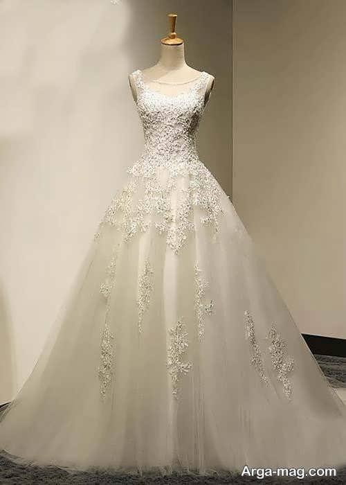 مدل لباس عروس فون برای افراد قد کوتاه