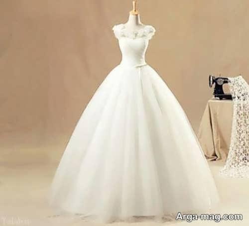 مدل پیراهن عروس افراد قد کوتاه