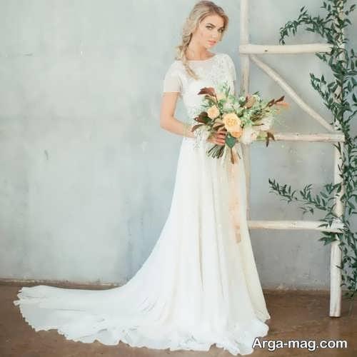 پیراهن عروس مناسب افراد قد کوتاه