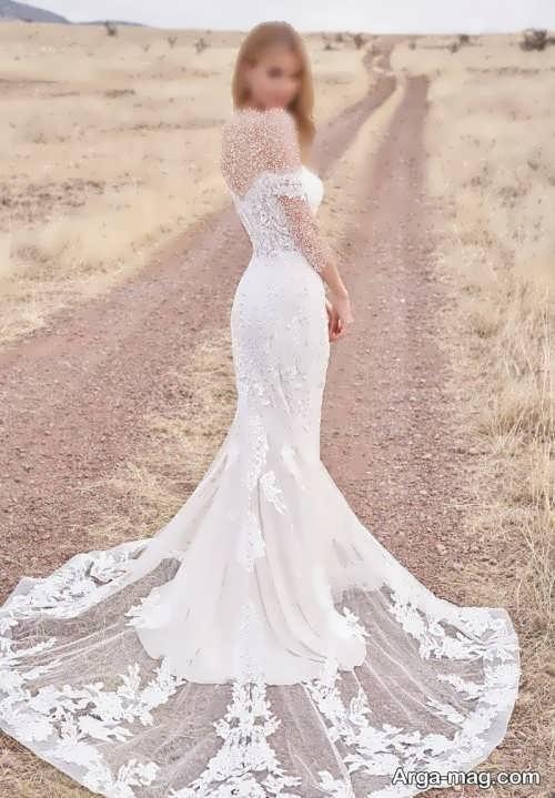پیراهن عروس جذاب برای افراد قد کوتاه