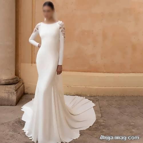 پیراهن عروس زیبا برای افراد قد کوتاه