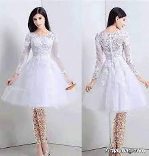 پیراهن عروس برای افراد قد کوتاه