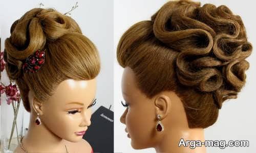 مدل مو بسته عروس با جدیدترین متدها