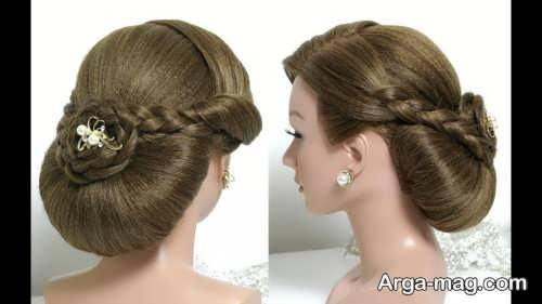 مدل موی خاص و بسته عروس