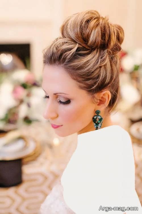 مدل موی شیک و جدید برای عروس