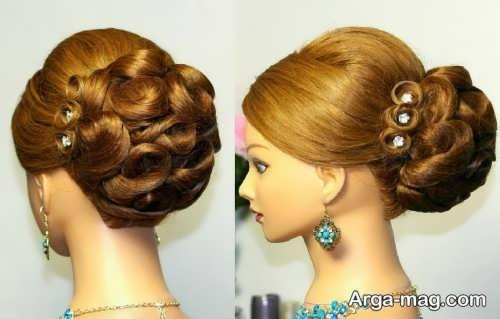 مدل موی شیک و خاص برای عروس