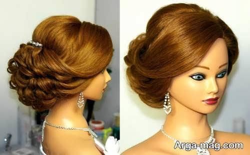 مدل موی شیک و خاص عروس